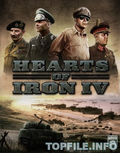 Hearts of Iron IV: Field Marshal Edition (2016/РС/Русский) Repack